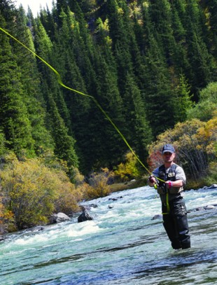 Premier Cut-Throat Trout Fishing on the Bear River