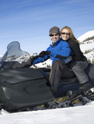 Endless Private Snowmobiling Trails